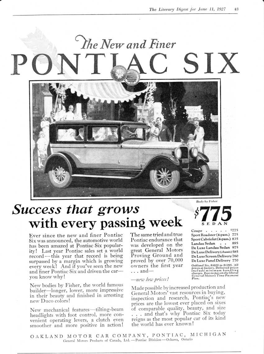 1927 Pontiac